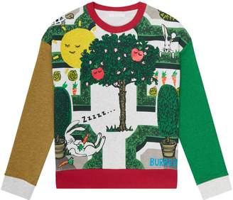 Burberry Garden Maze Sweater