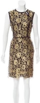 Derek Lam Lace Knee-Length Dress