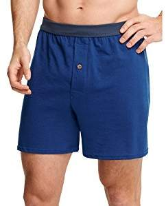 Hanes Mens TAGLESS ComfortSoft Knit Boxers with ComfortSoft Waistband 2X 5-Pack