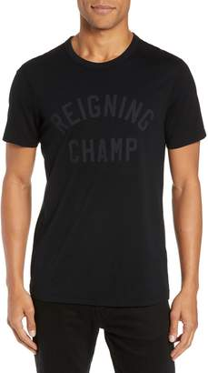 Reigning Champ Club Logo T-Shirt