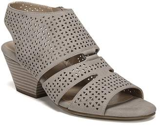 Naturalizer SOUL Dez Laser Cut Block Heel Sandal - Wide Width Available
