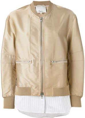 3.1 Phillip Lim zip-front bomber jacket