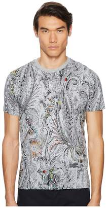 Etro All Over Paisley Print T-Shirt
