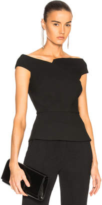 Roland Mouret Elmswell Viscose Crepe Top