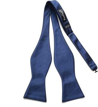 Pense'e PenSee Mens Exquisite Woven Silk Self Bowtie Solid Plain Bow Ties-Various Colors