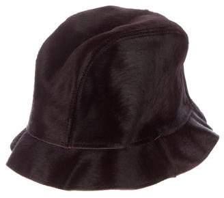 Dolce & GabbanaD&G Ponyhair Bucket Hat