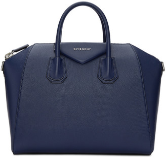 Givenchy Blue Medium Antigona Bag $2,435 thestylecure.com