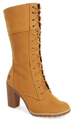 Women's Timberland 'Glancy 10 Inch' Lace-Up Boot $159.95 thestylecure.com