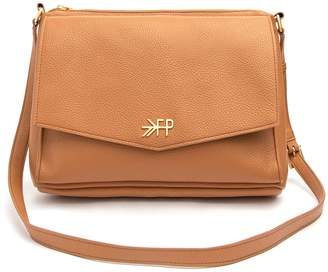 Freshly Picked Classic Faux Leather Crossbody Diaper Bag