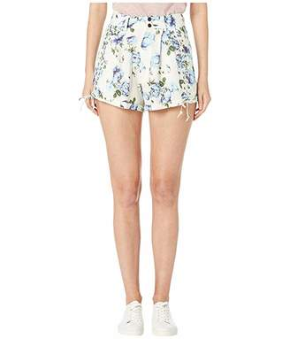 The Kooples Antique Flower Printed Shorts