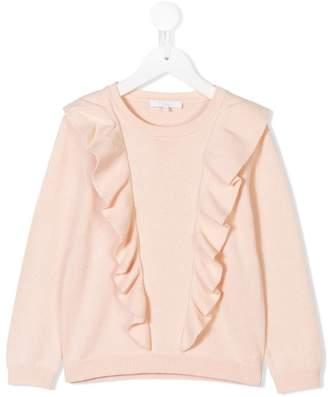 Chloé Kids frill detail sweater