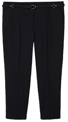 Violeta BY MANGO Belt suit trousers