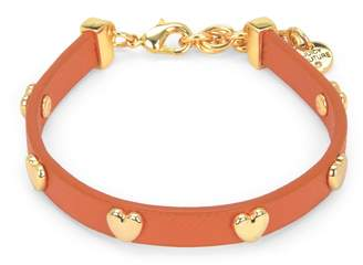 Juicy Couture Heart Leather Bracelet