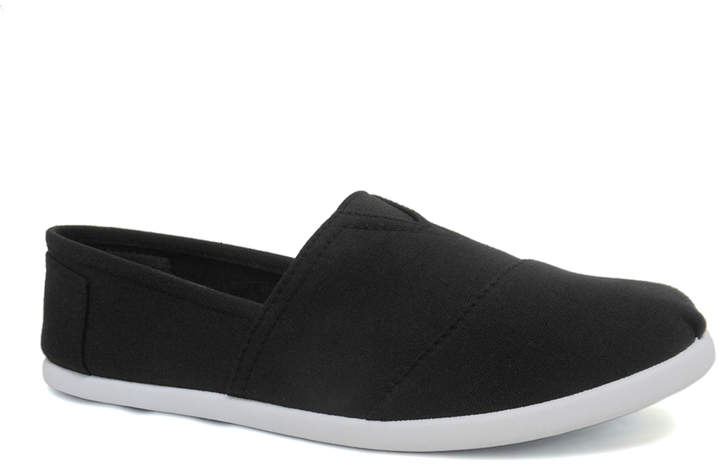 Black & White Dell Slip-On Sneaker - Women
