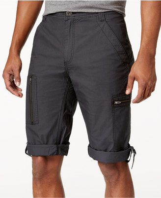"Inc International Concepts Men's 18"" Convertible Messenger Shorts, Created for Macy's $49.50 thestylecure.com"