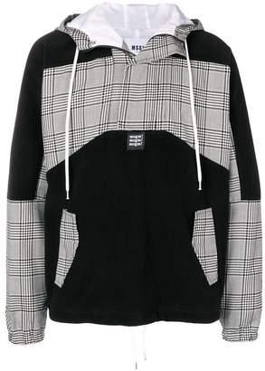 MSGM drawstring logo hoodie