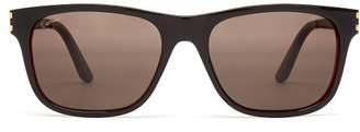 Cartier EYEWEAR C Décor acetate sunglasses