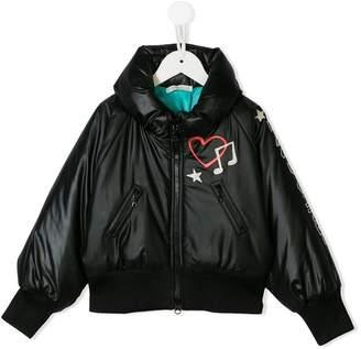 Chloé Raspberry Plum puffer jacket