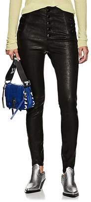 J Brand Women's Natasha Skinny Leather Pants