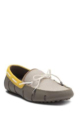 Swims Braided Lace Driver Loafer