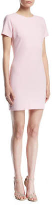 LIKELY Manhattan Fitted Short-Sleeve Mini Dress