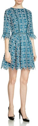Maje Rajo Embroidered Lace Dress $545 thestylecure.com