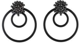 Marni Crystal & Circle Hoop Earrings