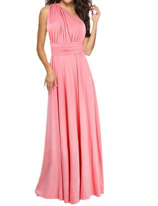 de564b1f054 Sexyshine Women s Gown Halter Cocktail Bandage Bridesmaid Long Dress (LB ...