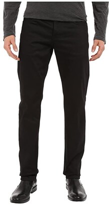 The Unbranded Brand Skinny in Black Selvedge Chino