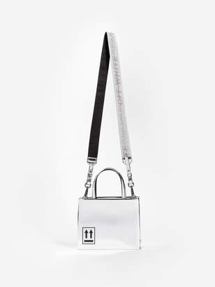 Off-White Top Handle Bags