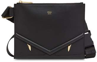 Fendi slim zipped messenger bag