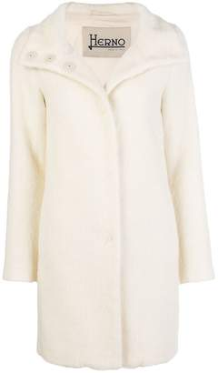 Herno buttoned up coat