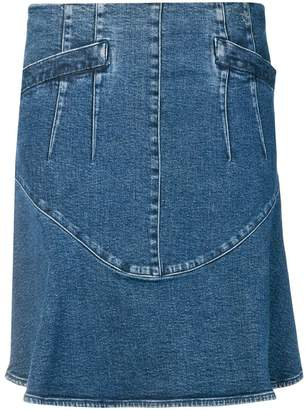 Chanel PRE-OWNED 2006's A-line denim skirt