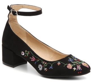Chinese Laundry Mabel Embroidered Pump $69 thestylecure.com