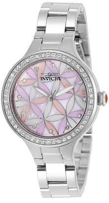 Invicta Womens Silver Tone Bracelet Watch-28823
