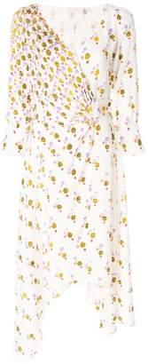 Peter Pilotto wrap front draped dress