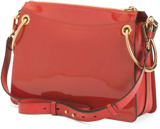Made In Italy Patent Leather Shoulder Bag