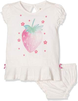 Hatley Baby Girls' Jersey Flounce Dress and Bloomer Set