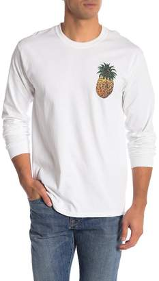 Riot Society Ornate Pineapple Graphic Long Sleeve Tee