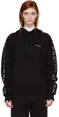 Timeout Etudes Black Time-Out Hoodie
