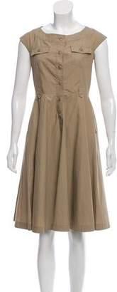 Max Mara Belted Mini Dress