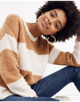 Madewell Teddy Striped Pullover Sweater