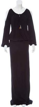 Gucci Long Sleeve Maxi Dress w/ Tags