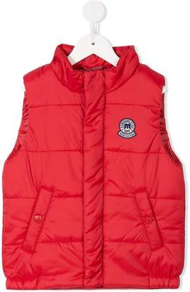 Mikihouse Miki House sleeveless padded vest