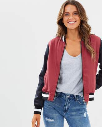 Nude Lucy Giselle Colour-Block Bomber Jacket