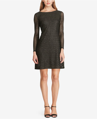 American Living Metallic Chevron Dress $99 thestylecure.com