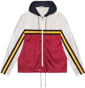 Gucci Nylon jacket with Guccy