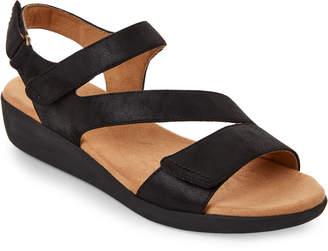 Easy Spirit Black Kailynne Open Toe Sandals
