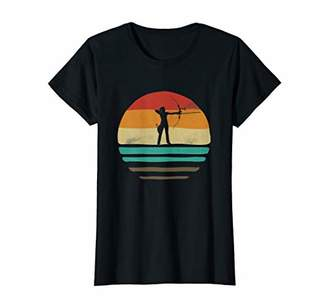 Womens Vintage Bow Hunting T-Shirt Archery Tshirt Woman Girl Gift T-Shirt