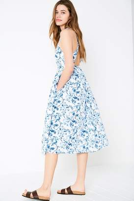 Jack Wills Dress - Constance Floral Midi